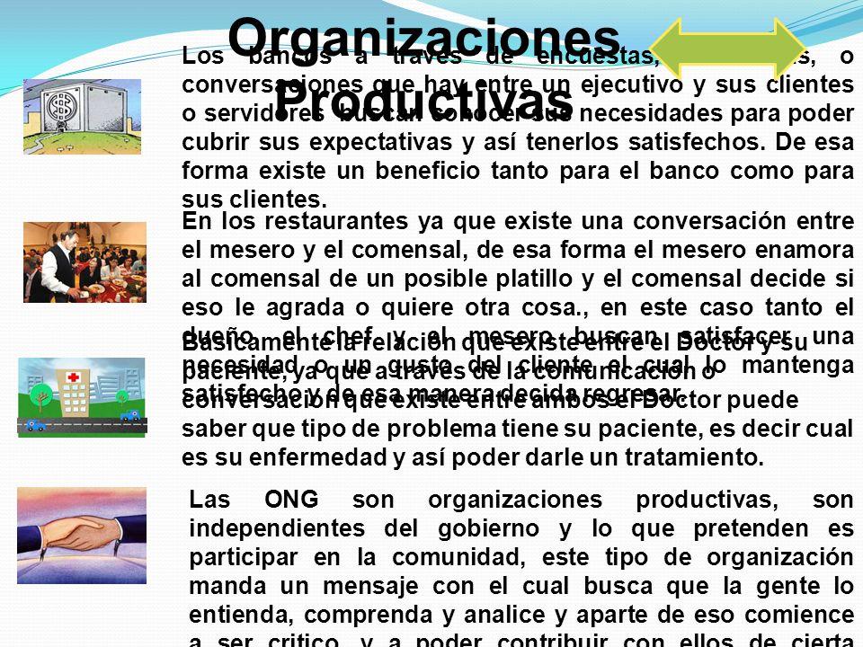 Organizaciones Productivas