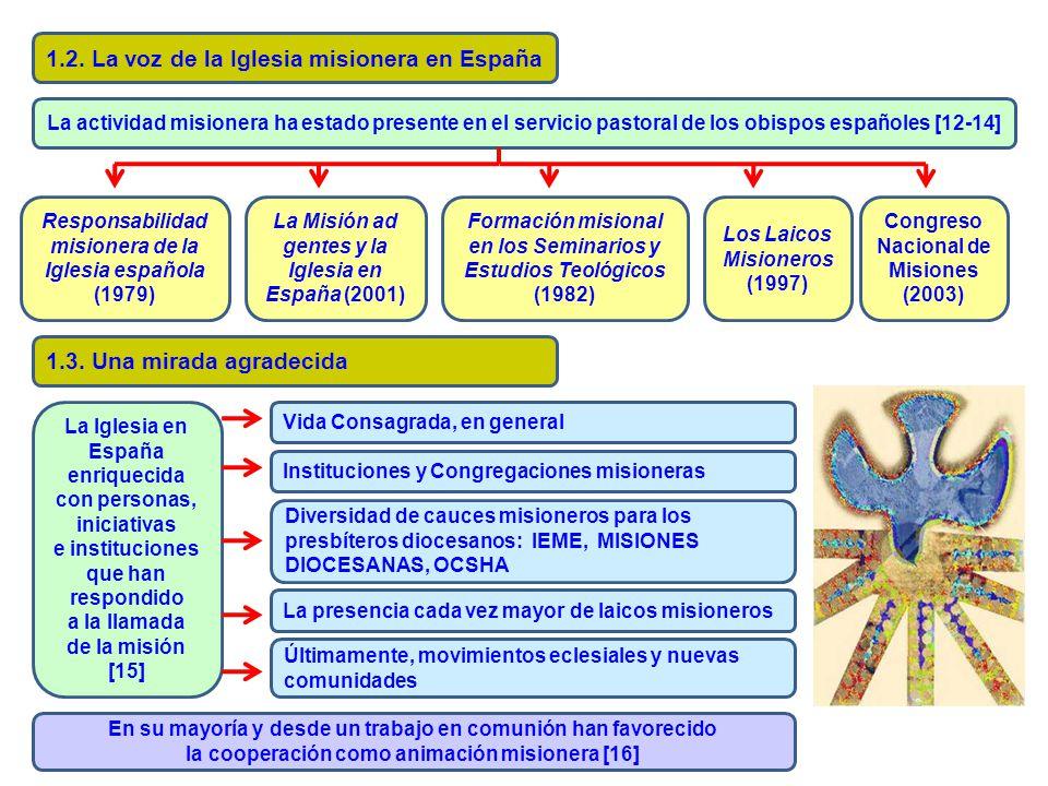 1.2. La voz de la Iglesia misionera en España