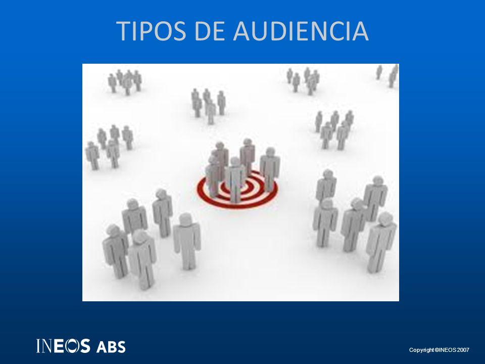 TIPOS DE AUDIENCIA