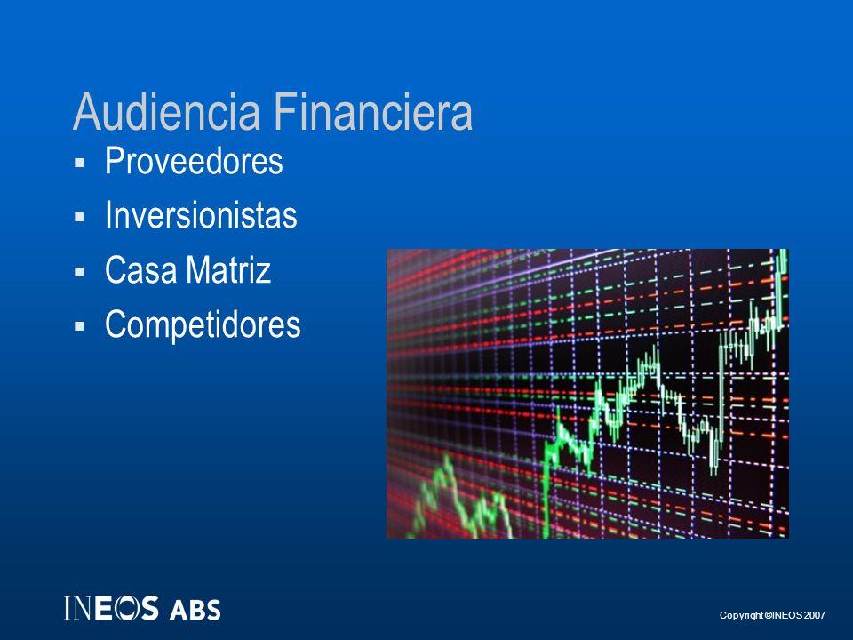 Audiencia Financiera Proveedores Inversionistas Casa Matriz