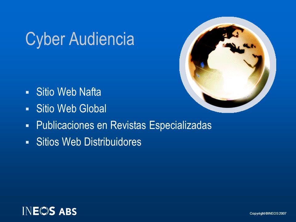 Cyber Audiencia Sitio Web Nafta Sitio Web Global