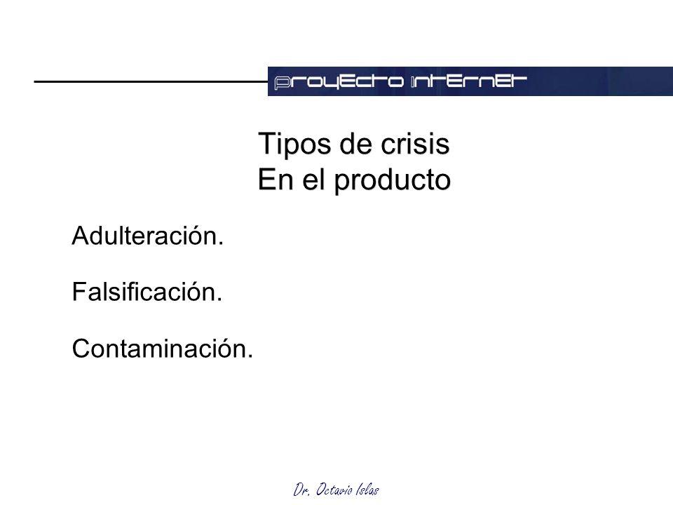 Tipos de crisis En el producto