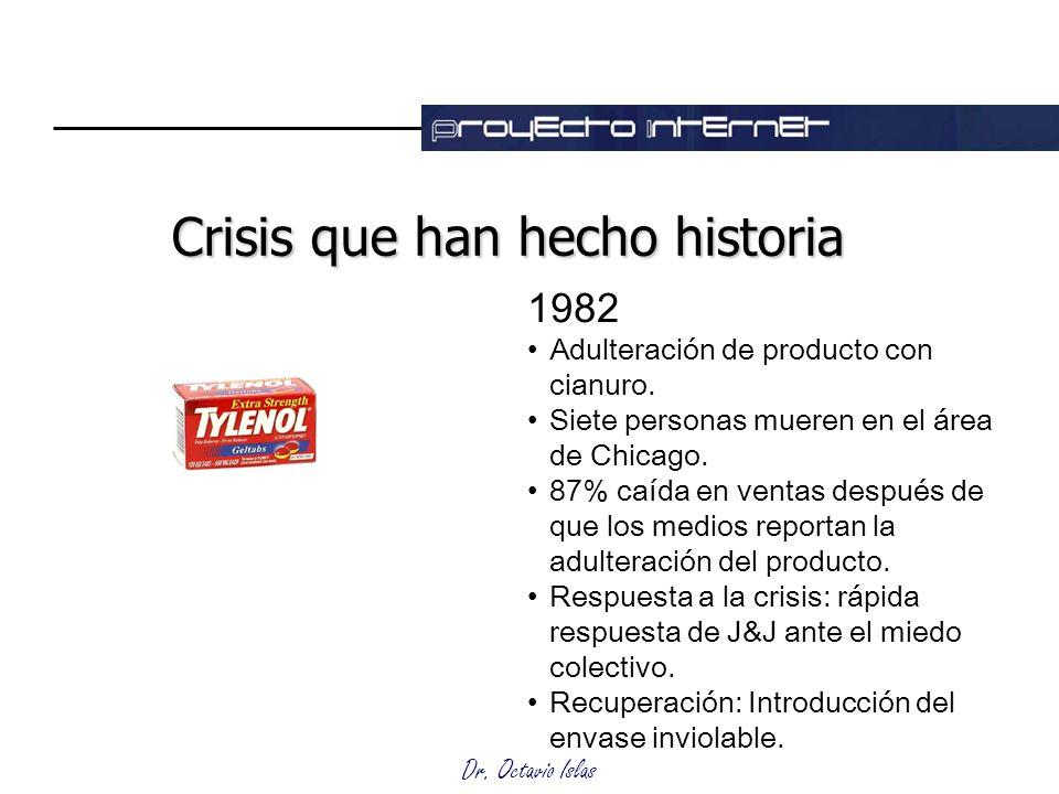 Crisis que han hecho historia