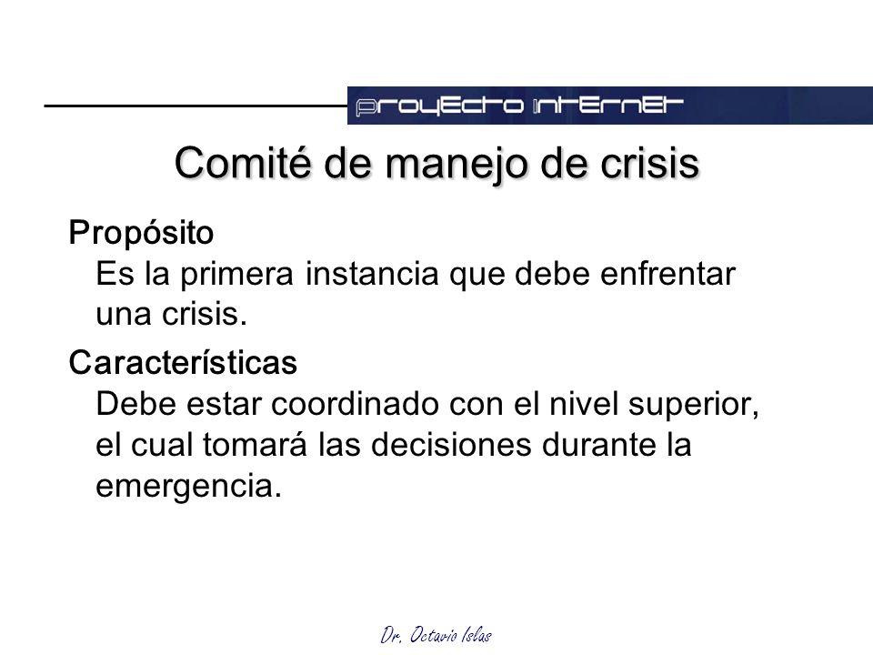 Comité de manejo de crisis