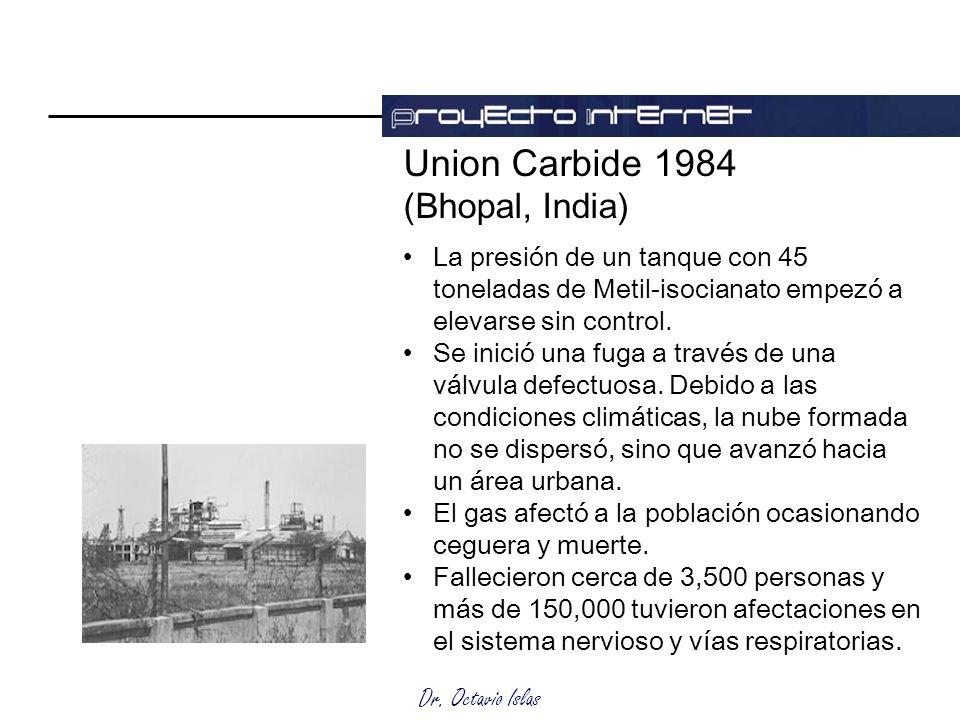 Union Carbide 1984 (Bhopal, India)