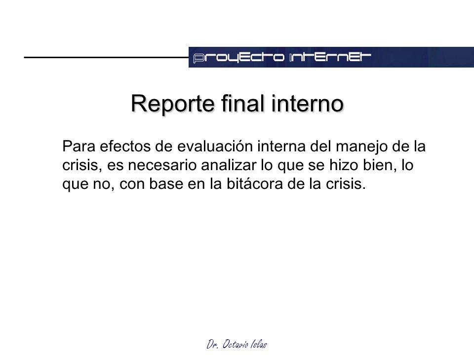 Reporte final interno