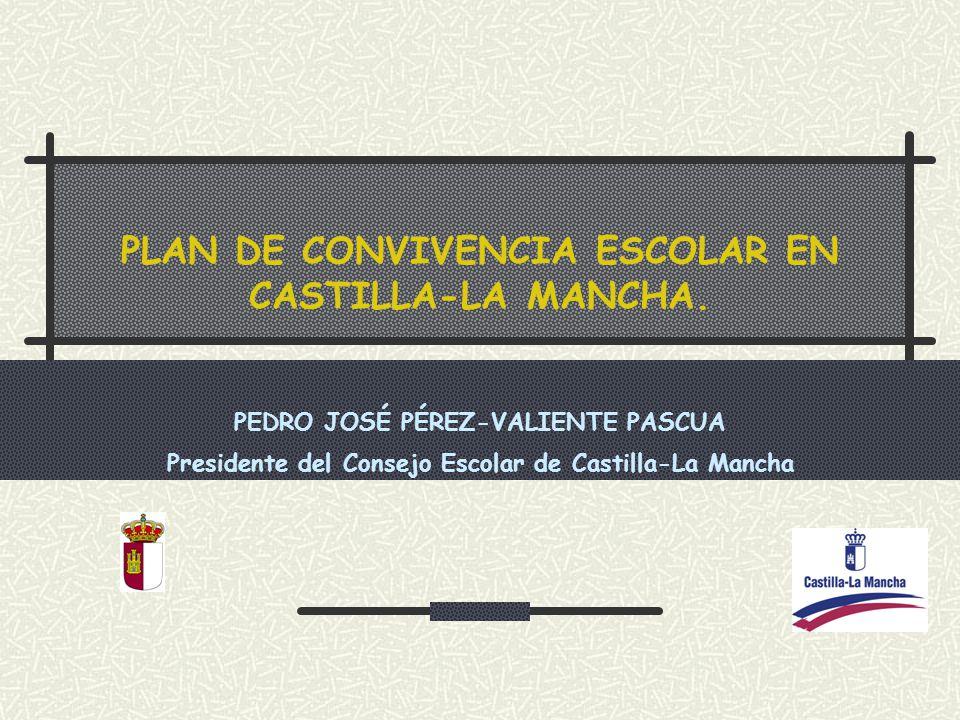 PLAN DE CONVIVENCIA ESCOLAR EN CASTILLA-LA MANCHA