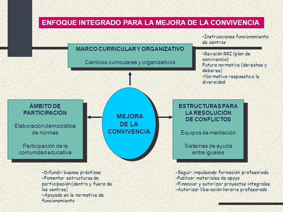 MARCO CURRICULAR Y ORGANIZATIVO