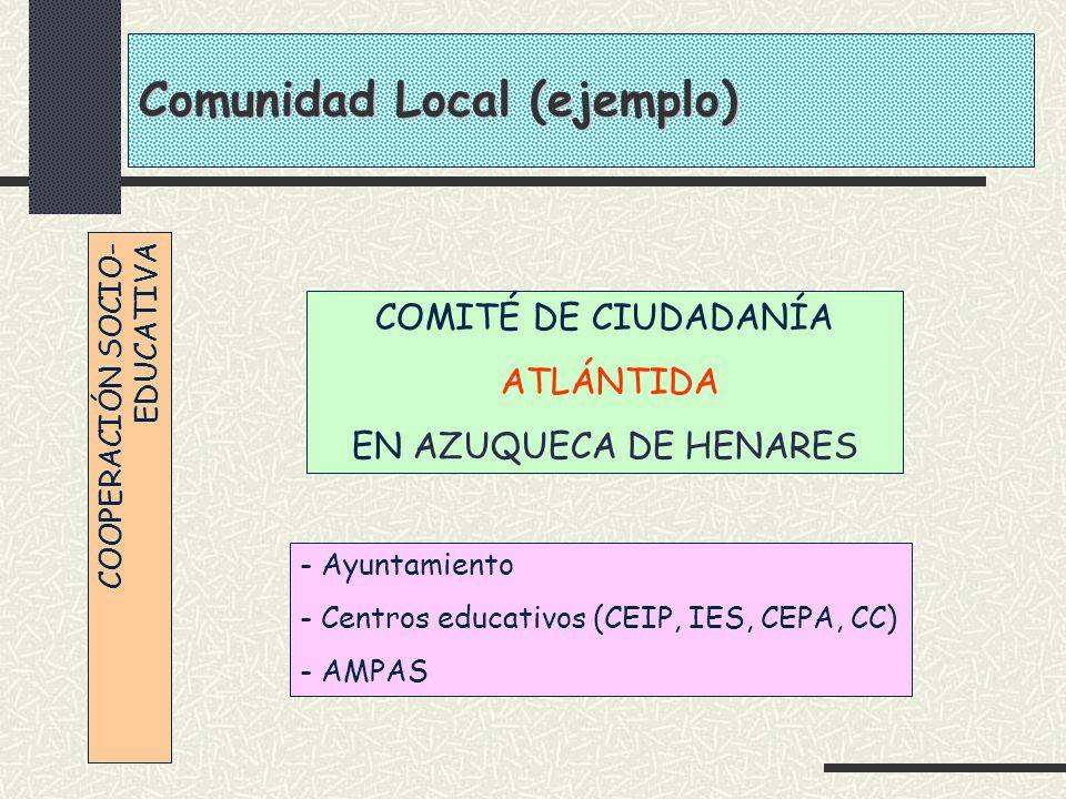 Comunidad Local (ejemplo)