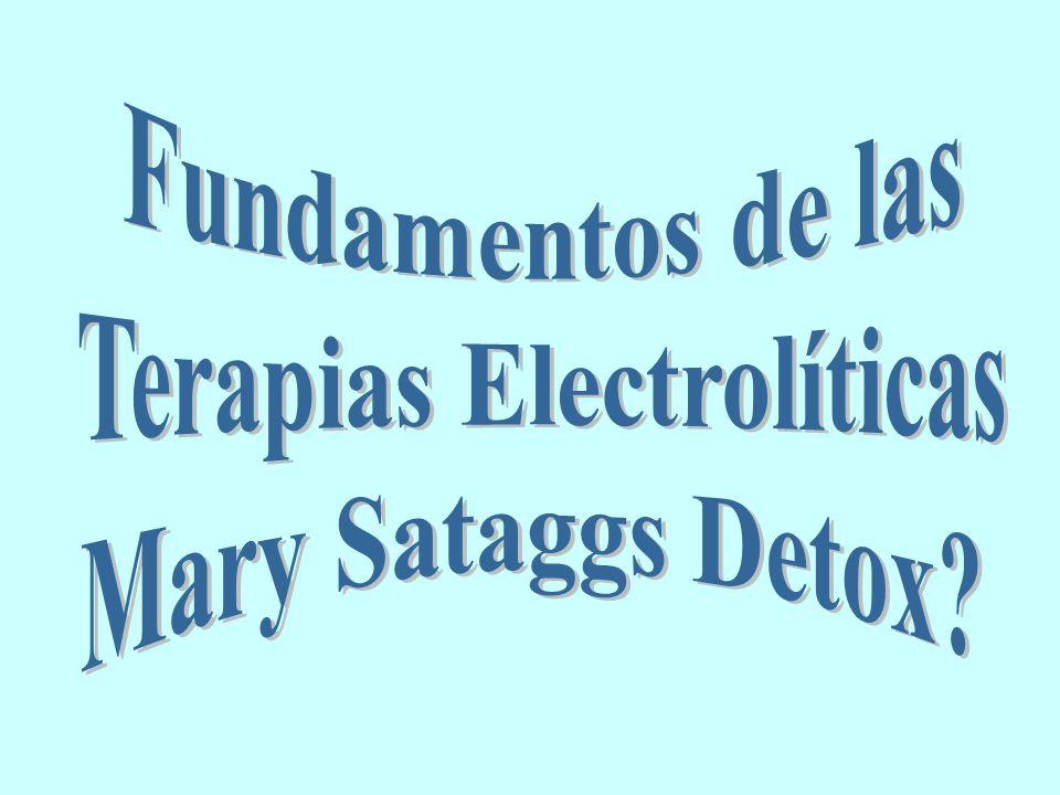 Terapias Electrolíticas
