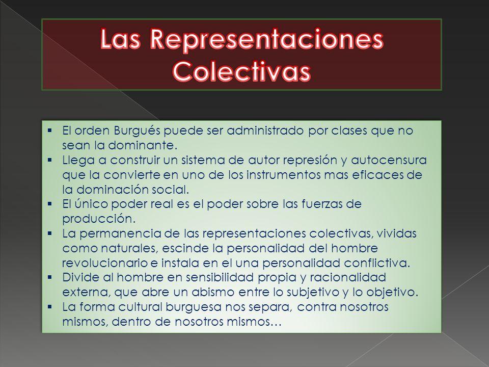 Las Representaciones Colectivas
