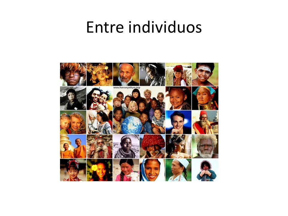 Entre individuos