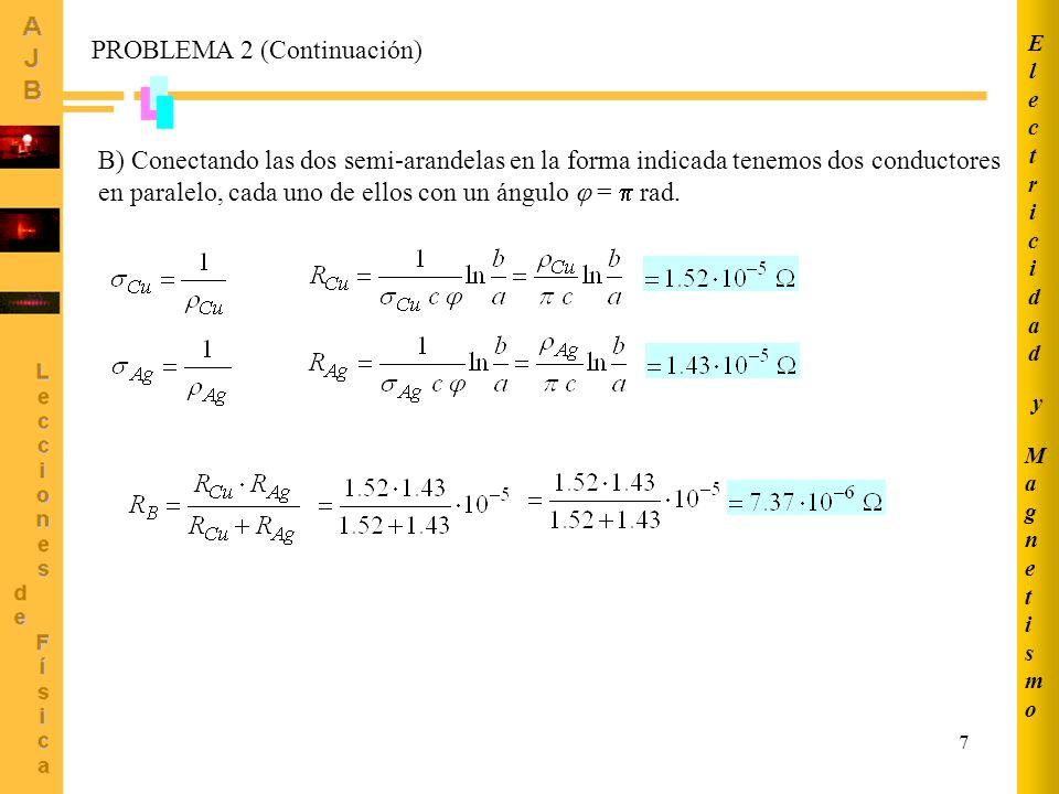 PROBLEMA 2 (Continuación)