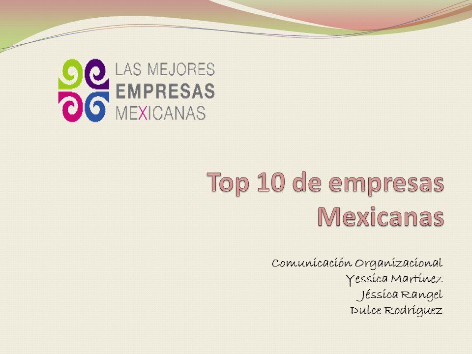 Top 10 de empresas Mexicanas