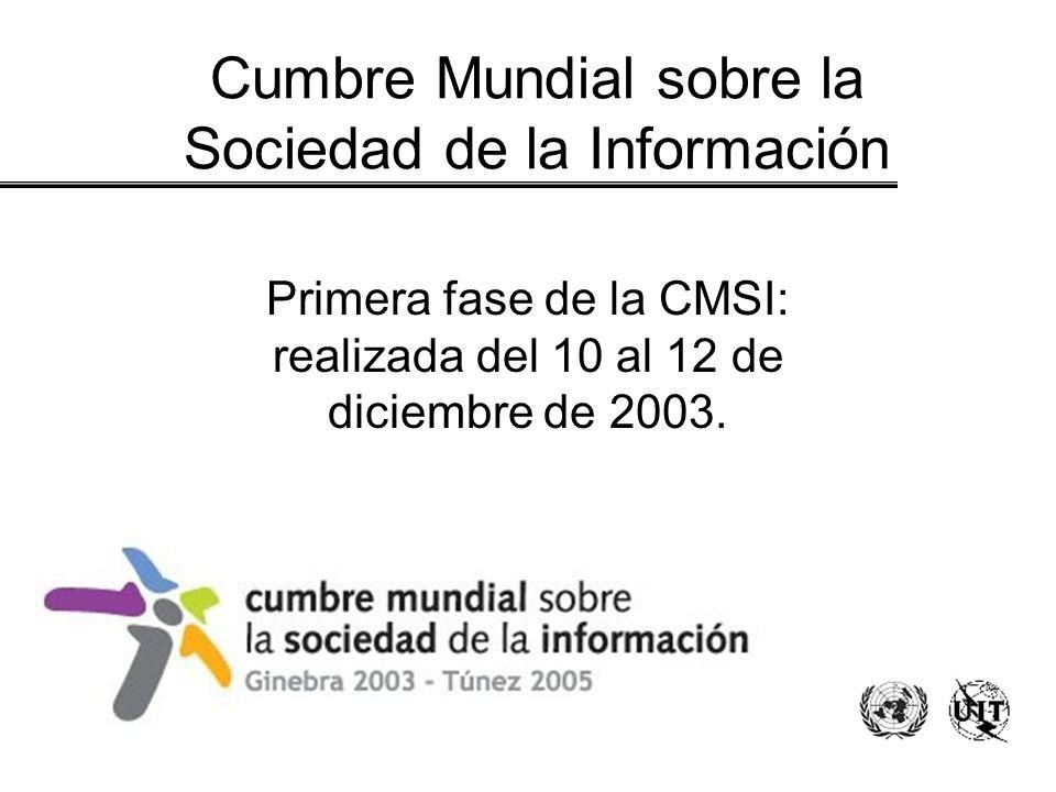 Cumbre Mundial sobre la Sociedad de la Información