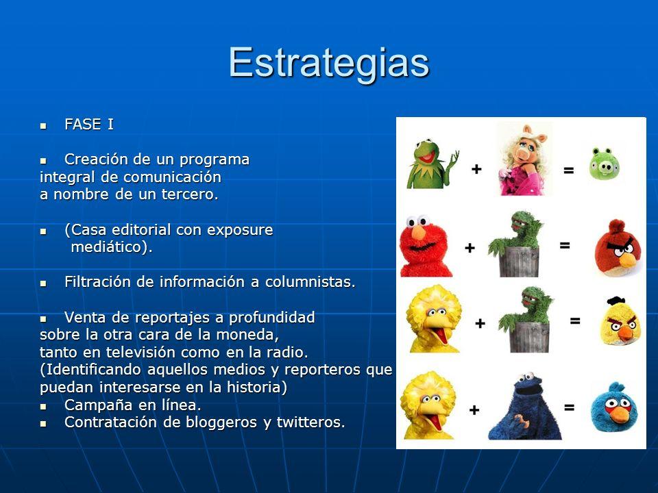 Estrategias FASE I Creación de un programa integral de comunicación