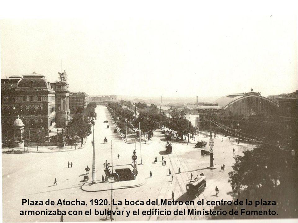 Plaza de Atocha, 1920.