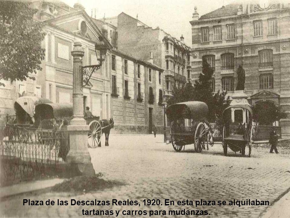 Plaza de las Descalzas Reales, 1920