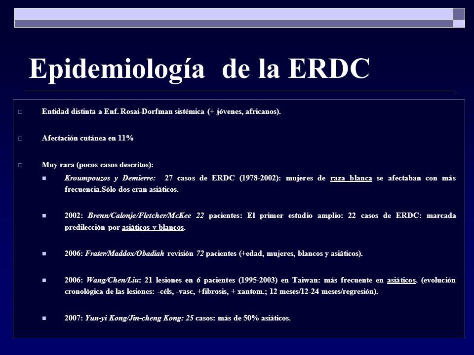 Epidemiología de la ERDC