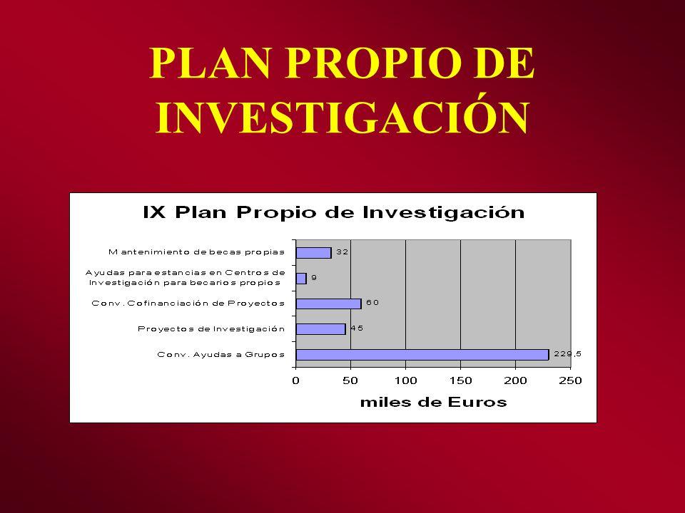 PLAN PROPIO DE INVESTIGACIÓN