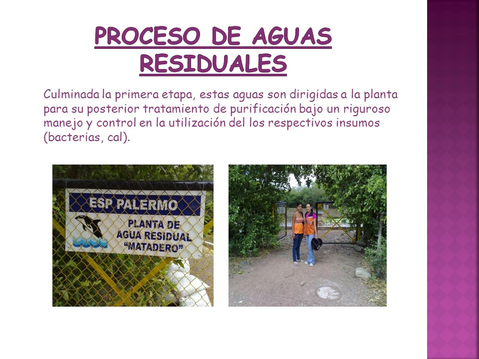 PROCESO DE AGUAS RESIDUALES