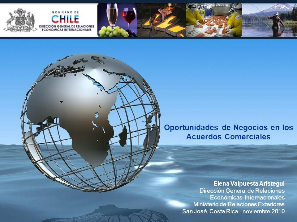 Oportunidades de Negocios en los Acuerdos Comerciales
