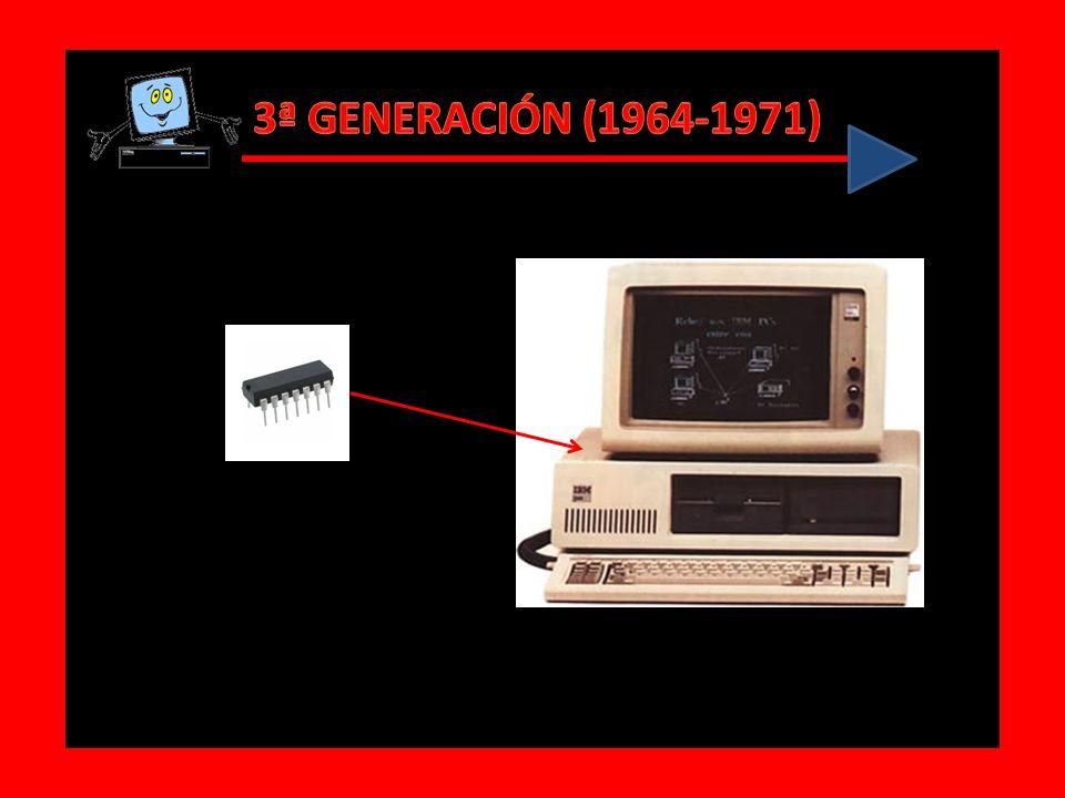 3ª GENERACIÓN (1964-1971)