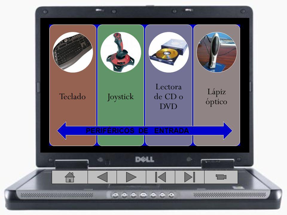 Teclado Joystick Lectora de CD o DVD Lápiz óptico