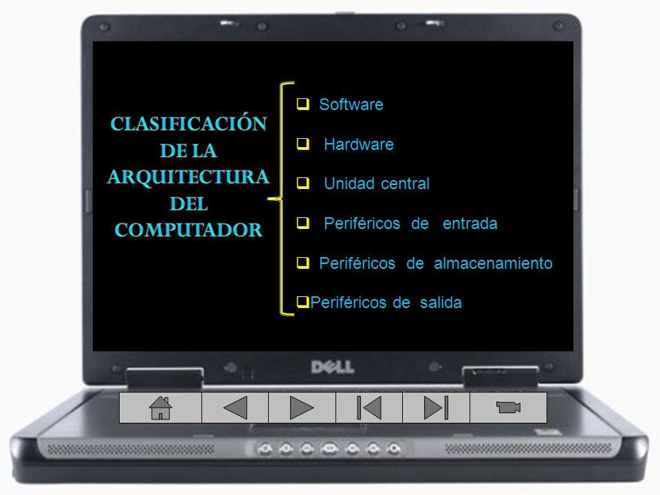 CLASIFICACIÓN DE LA ARQUITECTURA DEL COMPUTADOR
