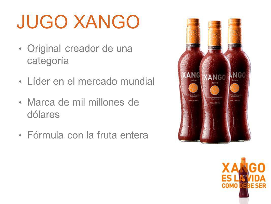 JUGO XANGO Original creador de una categoría