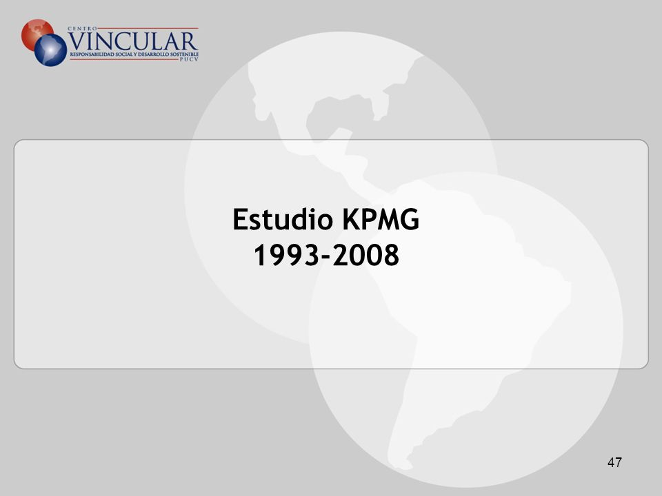 Estudio KPMG 1993-2008