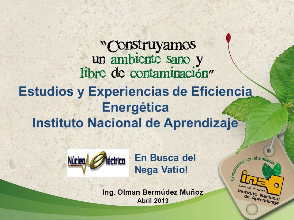 Estudios y Experiencias de Eficiencia Energética