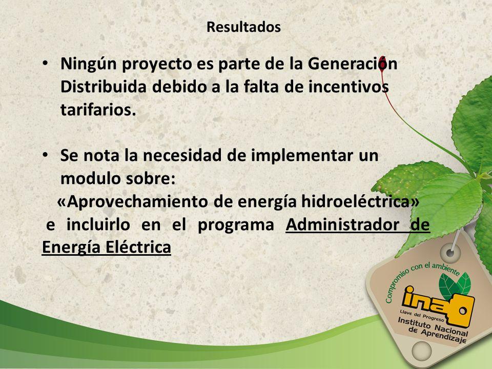 «Aprovechamiento de energía hidroeléctrica»