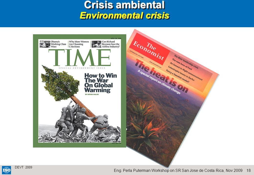 Crisis ambiental Environmental crisis
