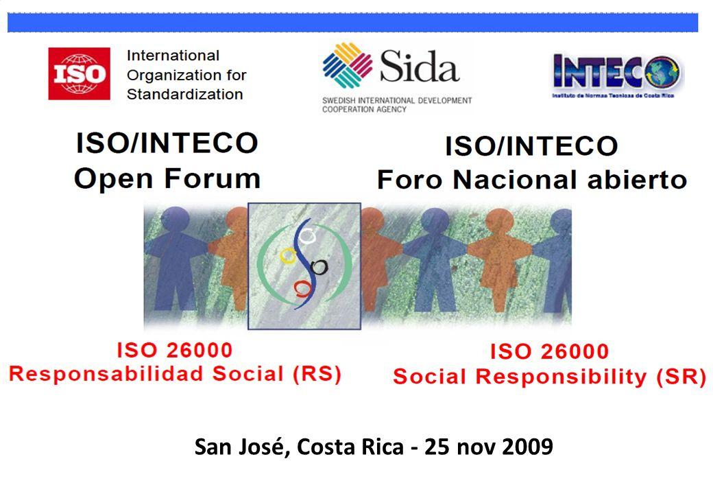 San José, Costa Rica - 25 nov 2009