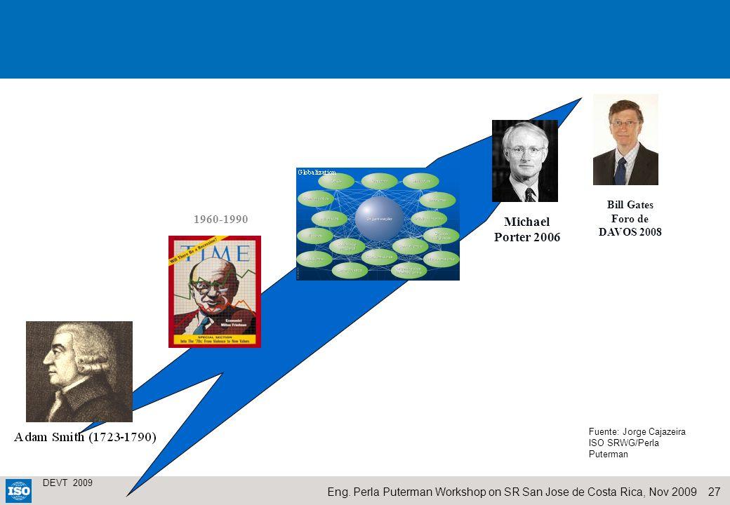 Bill Gates Foro de DAVOS 2008