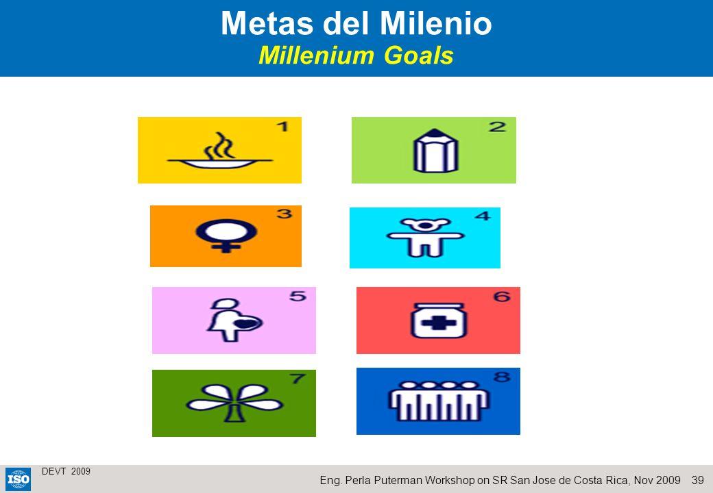 Metas del Milenio Millenium Goals