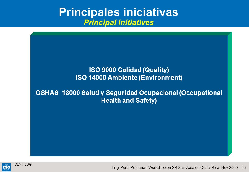 ISO 14000 Ambiente (Environment)