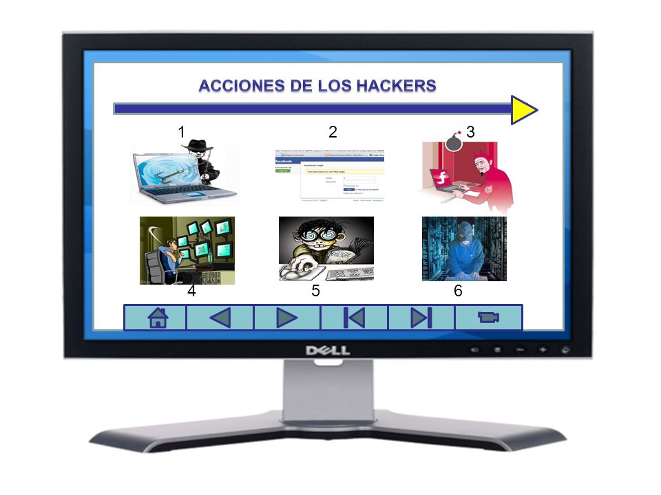 ACCIONES DE LOS HACKERS