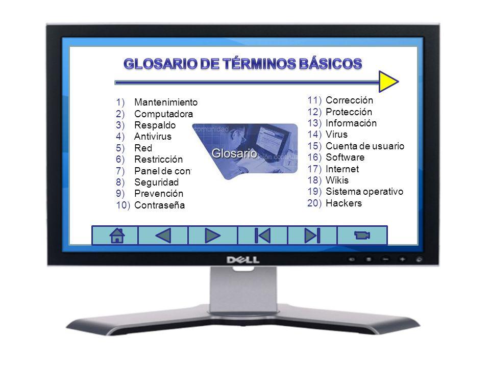 GLOSARIO DE TÉRMINOS BÁSICOS