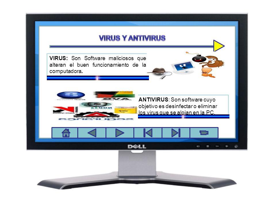 VIRUS Y ANTIVIRUS Panel de control
