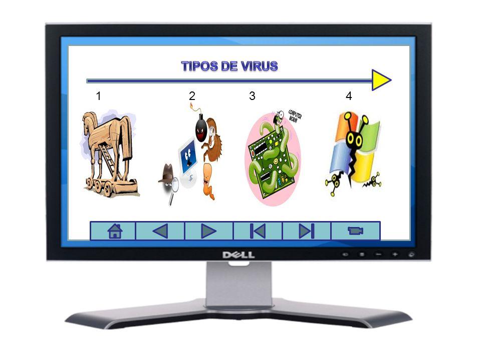 Panel de control TIPOS DE VIRUS.