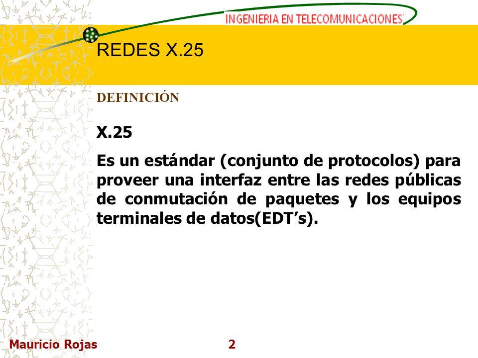 DEFINICIÓN X.25.