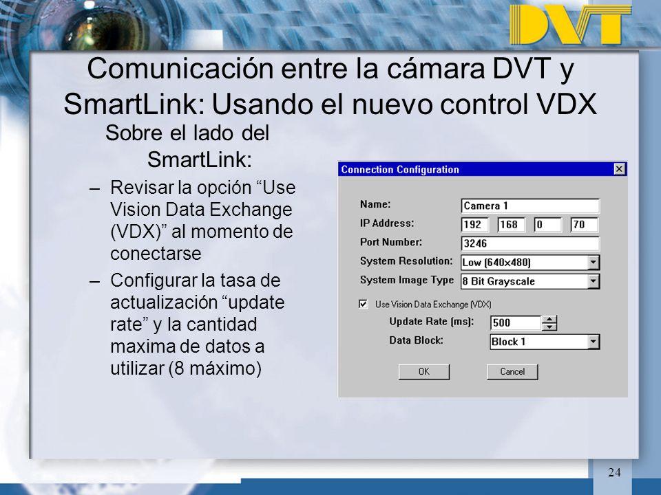 Sobre el lado del SmartLink: