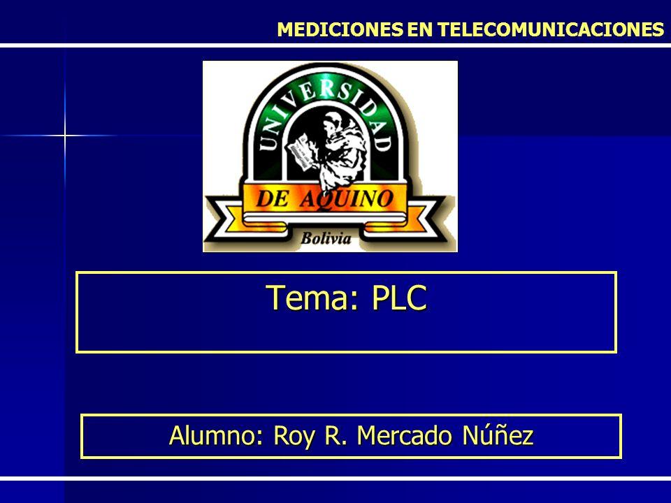 Alumno: Roy R. Mercado Núñez