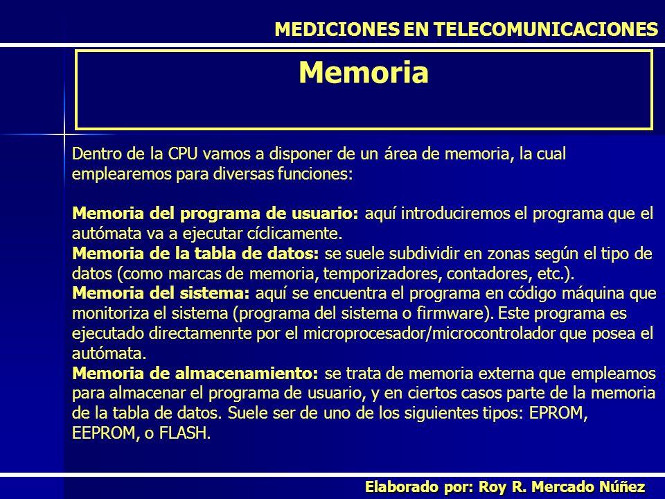 Memoria MEDICIONES EN TELECOMUNICACIONES