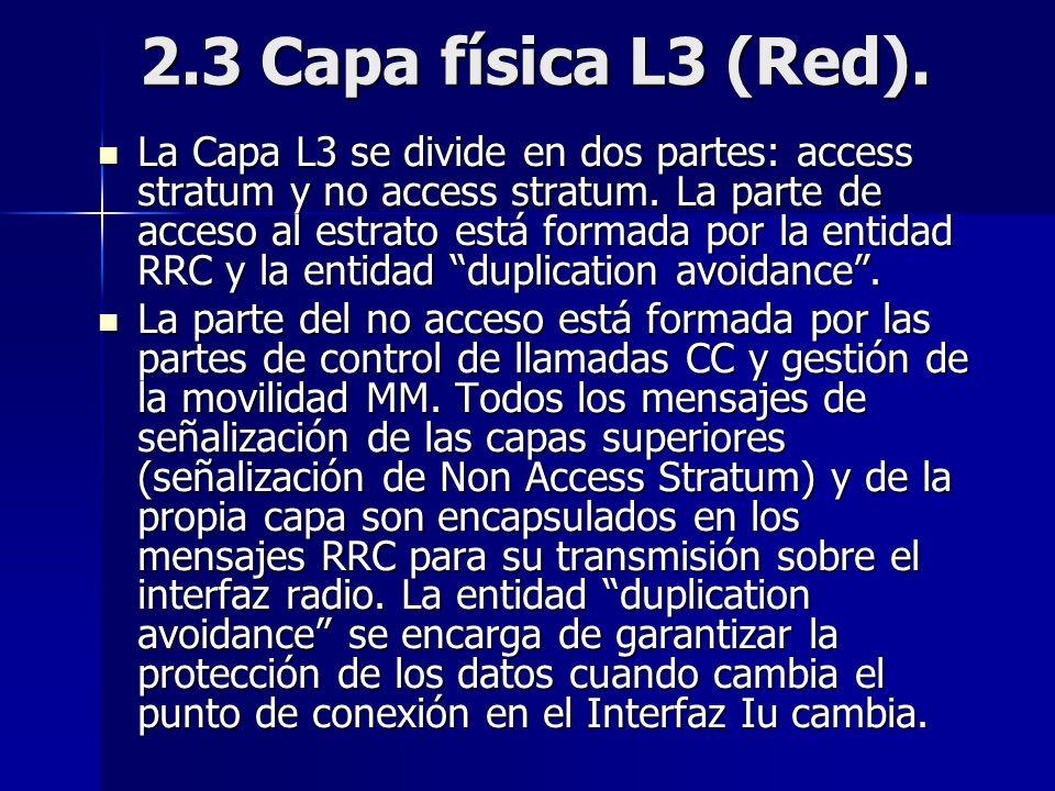2.3 Capa física L3 (Red).