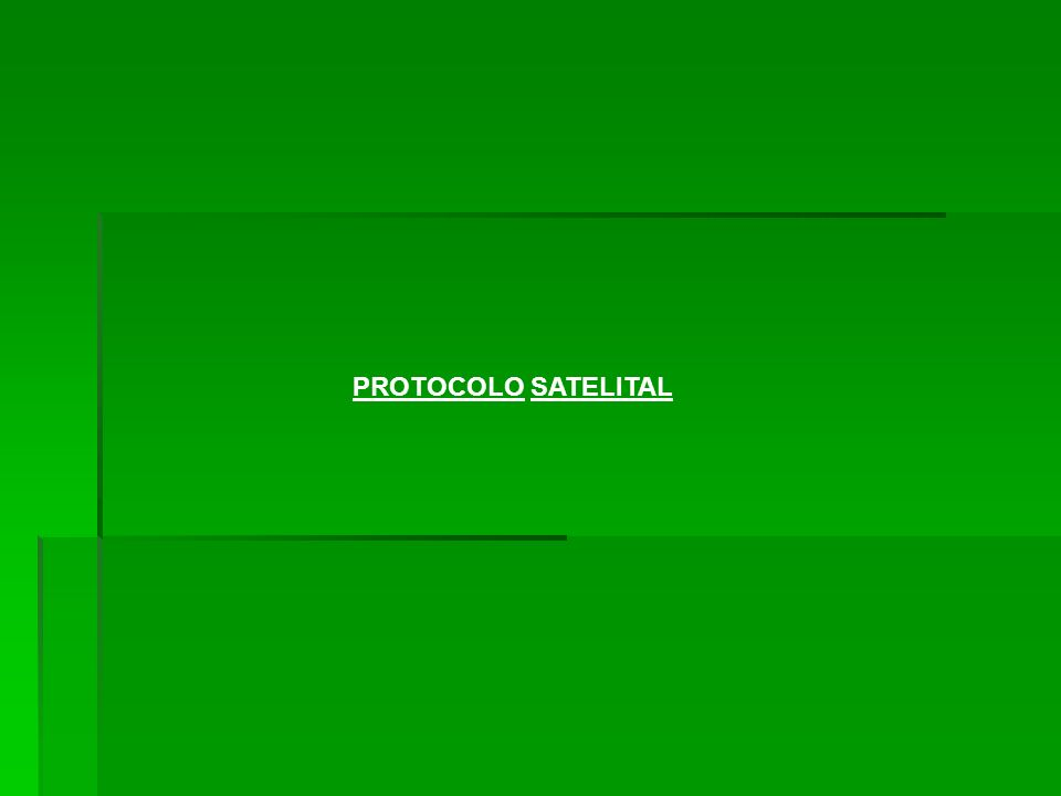 PROTOCOLO SATELITAL