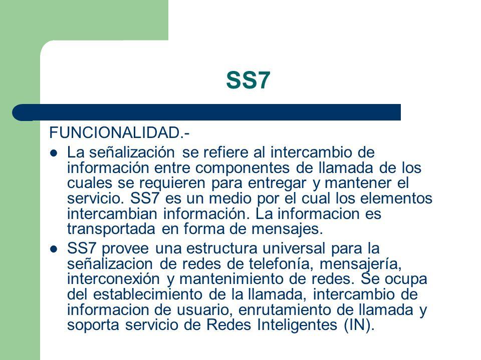 SS7 FUNCIONALIDAD.-