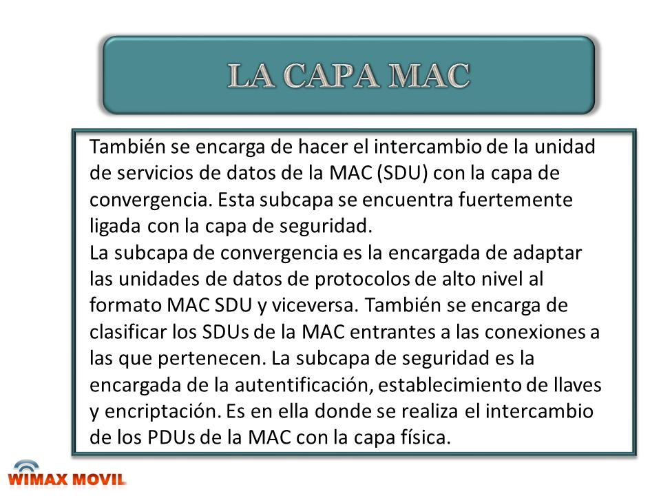 LA CAPA MAC